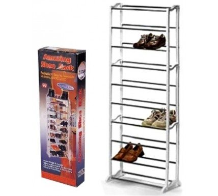 10 Level Shoe Rack