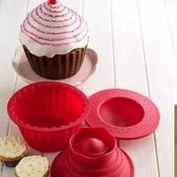Giant Silicone Cupcake Bakeware