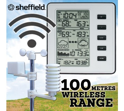 Sheffield Pro Weather Station