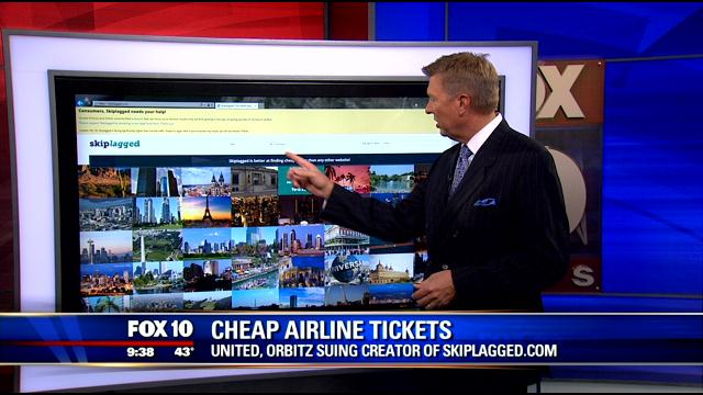 airline tickets united