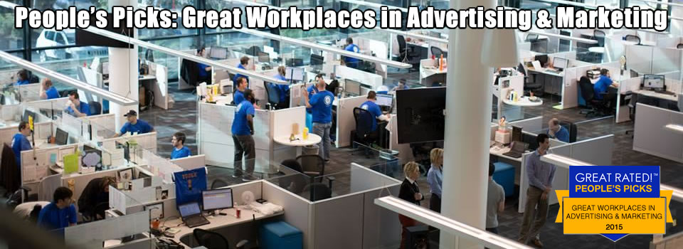 10 Great Workplaces in Advertising and Marketing