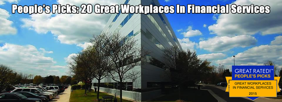20 Great Workplaces in Financial Services