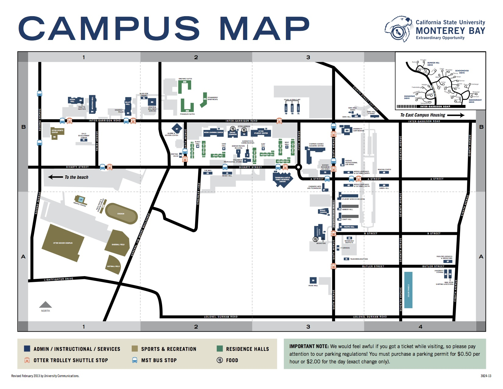 Csumb Map