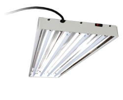 EnviroGro T5 4FT 4 Tube Fixture w/bulbs