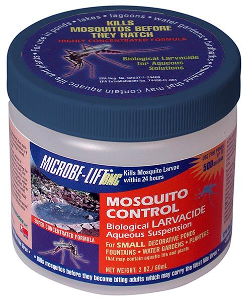 Microbe lift bmc 2 oz biological mosquito control for Mosquito dunks amazon