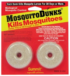 Mosquito dunks 2 dunks carded kills fungus gnat larvae for Mosquito dunks amazon