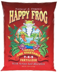 Happy Frog Tomato & Vegetable Organic Fertilizer 18 Pounds