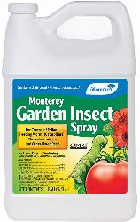 Monterey Garden Insect Spray With Spinosad 1 Gallon