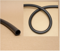 Greentrees 3/4 Inch Soft Black Tubing 1 Foot