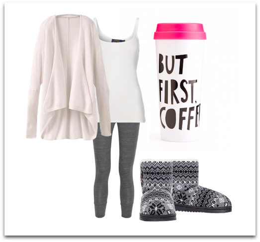 cozy new years day outfit