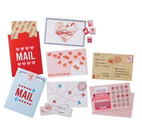 Martha Stewart Crafts Mailbox Valentine Card Kit