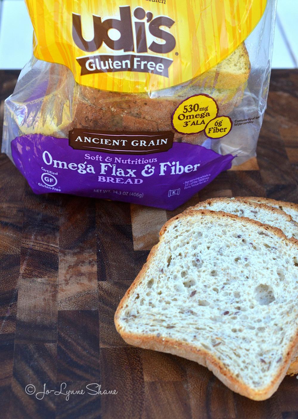 Udis Omega Flax & Fiber Bread