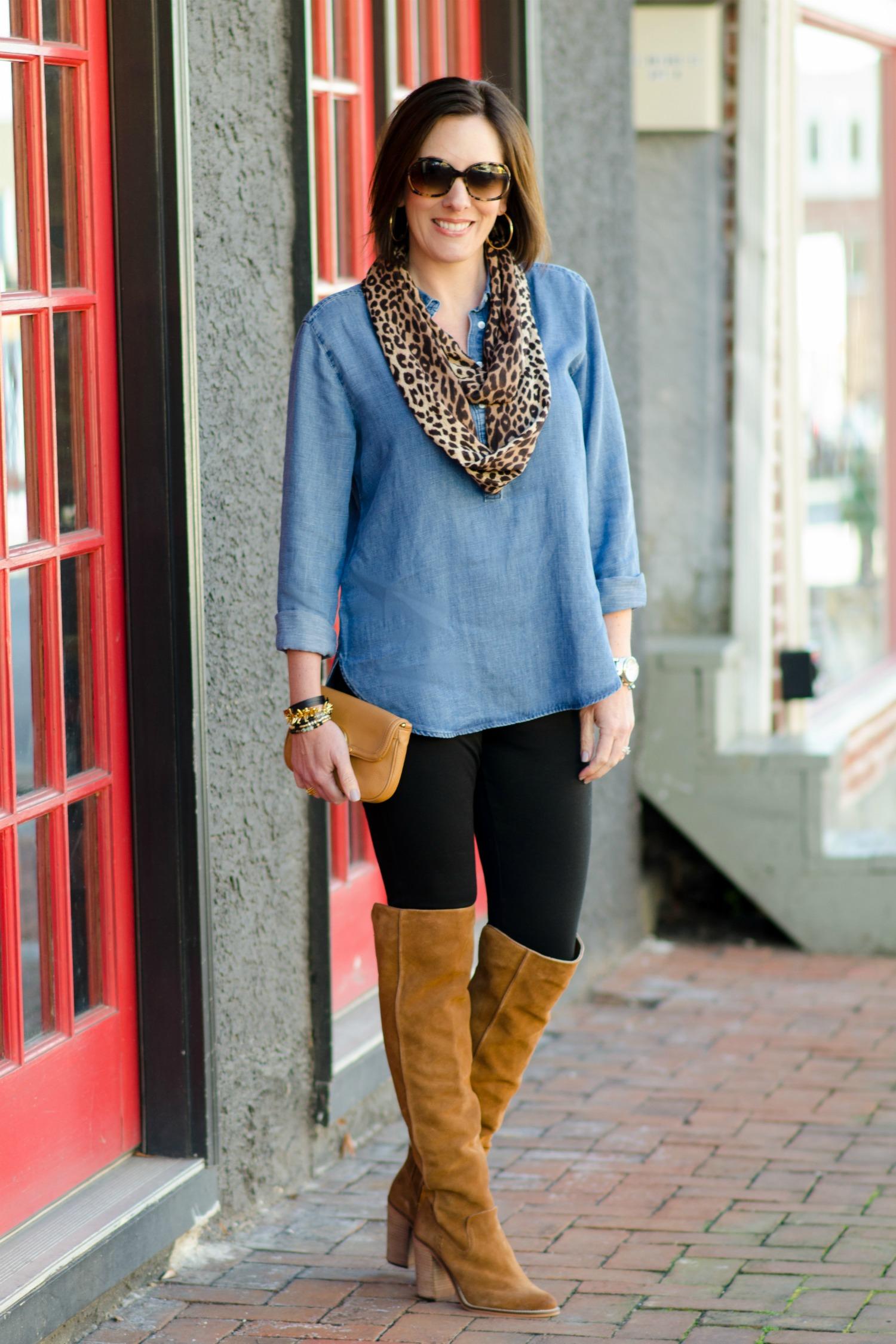 beautiful outfits leggings boots shirts