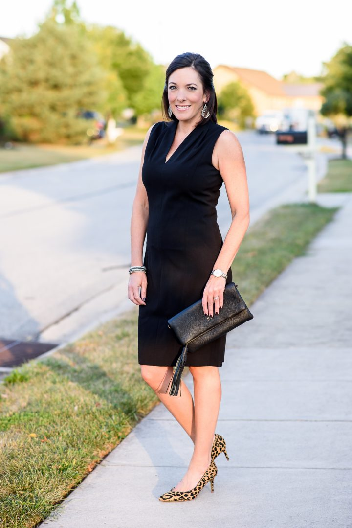 The Perfect LBD: T Tahari Tonya Pleat Dress
