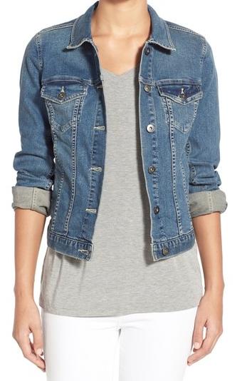 Spring Wardrobe Essentials: Denim Jacket