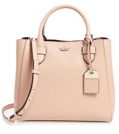 Spring Wardrobe Essentials: Structured Handbag in Blush
