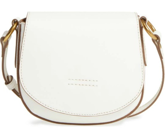 FryeSmall Harness Calfskin Leather Saddle Bag
