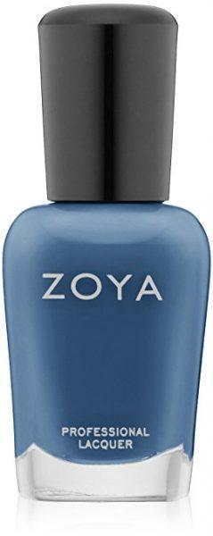 Zoya Natty Steel Blue Nail Color