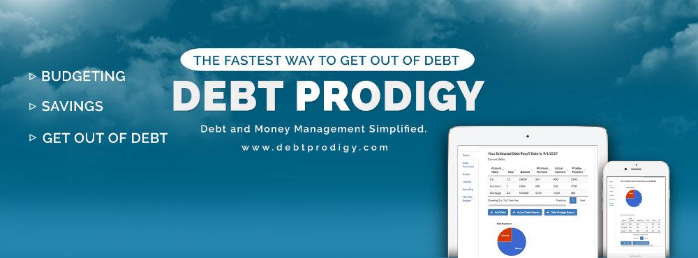 debt prodigy landing