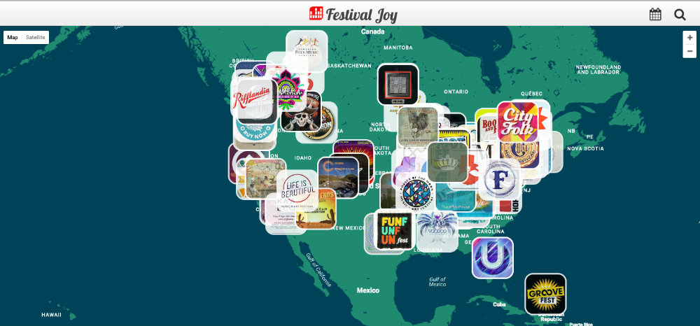 festival joy map
