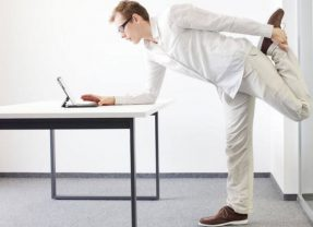 Too Busy To Exercise? Feel Down At Work? Desk Yogi Is The Wellness Solution For You