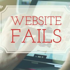 10 Website Fails Your Business is Making
