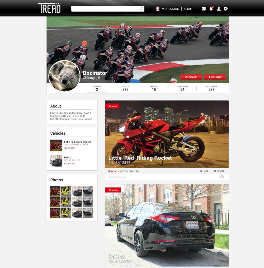 tread-website