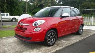 Fiat 500L Easy Rojo 2014