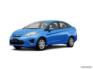 Ford Fiesta Se Blue 2013