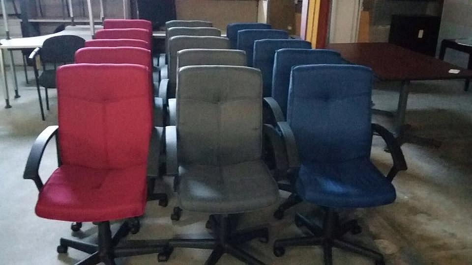 Sillas secretariales o para mesas de conference para for Sillas secretariales