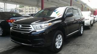 Toyota Highlander Negro 2013