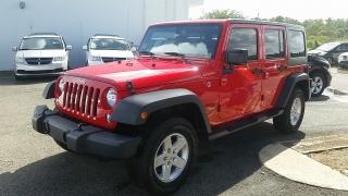 Jeep Wrangler Unlimited Sport Rojo 2016