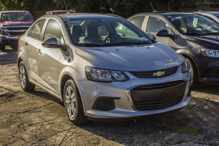 Chevrolet Sonic Ls 2017