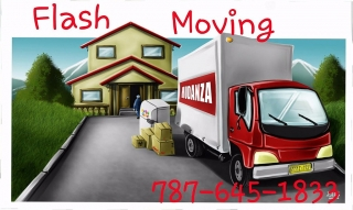 FLASH MOVING 787-645-1833 desde $100
