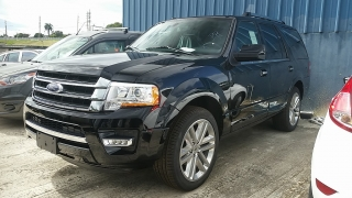 Ford Expedition Limited Negro 2017