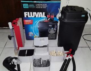 Filtro Fluval 406 como nuevo Pecera