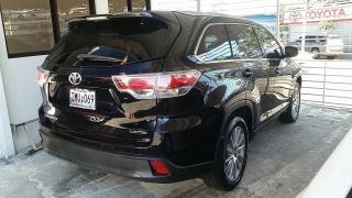 Toyota Highlander Limited Negro 2014