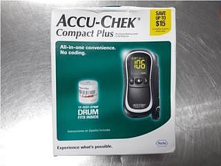 Accu-Chek Compact Plus - Blood Pressure