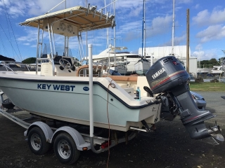 Center Console Key West Boat w/ Yamaha 200HP