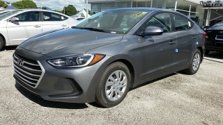 Hyundai Elantra Se Gray 2017