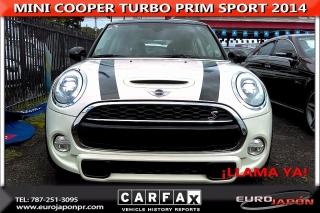 MINI COOPER S TURBO PREMIUM SPORT 2014