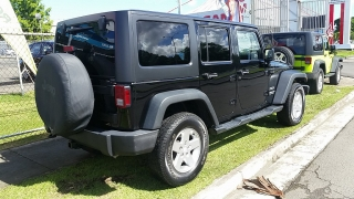 Jeep Wrangler Unlimited Sport Negro 2013