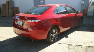 Toyota Corolla LE Rojo 2016