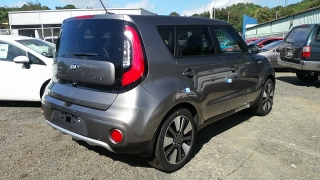 Kia Soul Player Gris Oscuro 2017