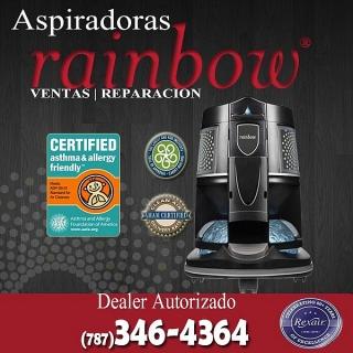Aspiradoras Rainbow nuevas y usadas