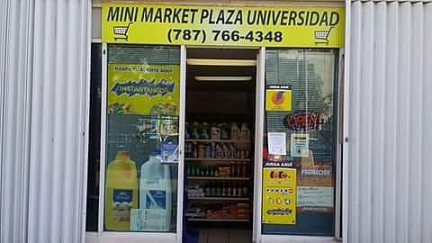 Minimarket. Plaza universitaria 2000