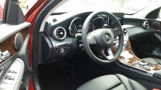 Mercedes-Benz C-Class C300 designo Cardinal Red Metallic 2017