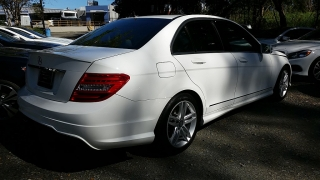 Mercedes-Benz C-Class C250 Sport Polar White 2014