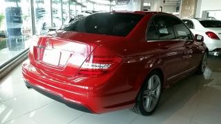 Mercedes-Benz C-Class C250 Sport Mars Red 2014