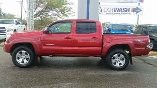 Toyota Tacoma PreRunner Rojo 2012